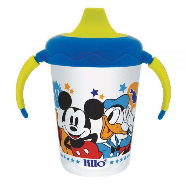 Caneca Antivazamento Aprendizado Disney Mickey 207ml